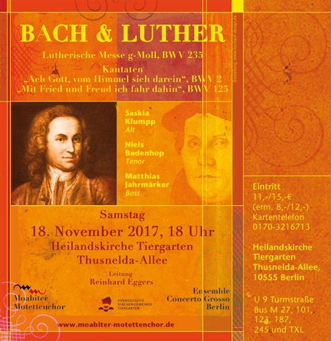 Bach & Luther 2017